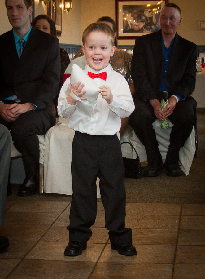 Happiest Ring Bearer
