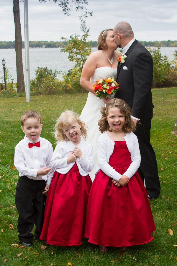 Kids Wedding Photo
