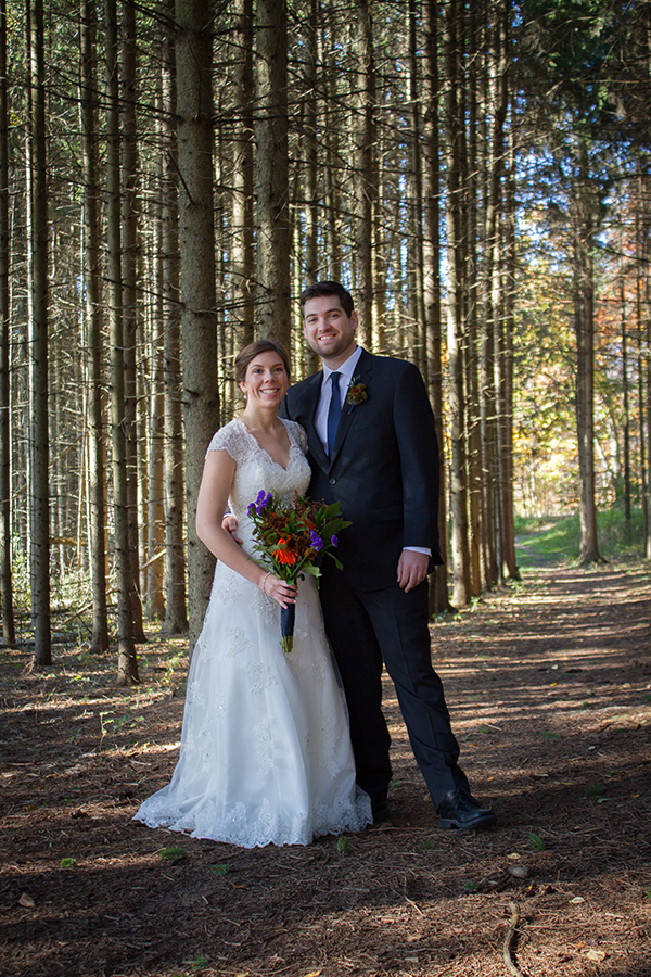 Glacier Hills Wedding Photo