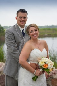 Kate and Andrew at the Broadlands Golf Course