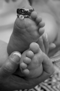 Rings on Baby Toes