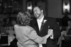 Mike and his mom have a dance