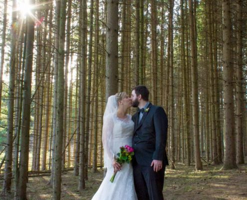 Glacier Hills Hubertus Wedding